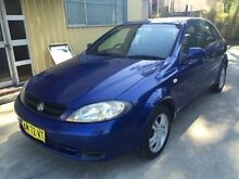 2006 Holden Viva JF Equipe Blue 4 Speed Automatic Hatchback Macquarie Hills Lake Macquarie Area Preview