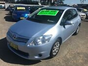 2011 Toyota Corolla ZRE152R MY11 Ascent Blue 4 Speed Automatic Hatchback Lansvale Liverpool Area Preview