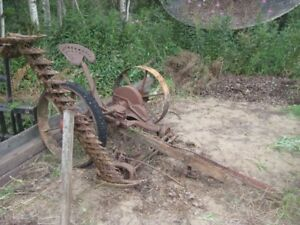 Antique Horse Drawn Sickle Mower