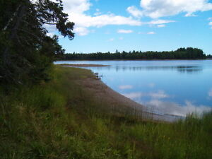 Beautiful Water front property with over 2000 feet of frontage