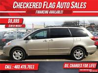2005 Toyota Sienna LE W/ All Wheel Drive-Tinted Glass-Premium CD