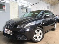Seat Ibiza 1.2 12v Reference 3dr BLACK ++ FACELIFT ++