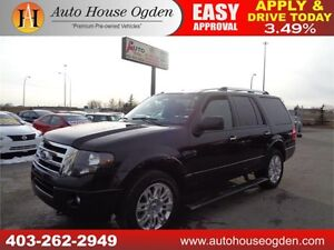 2013 Ford Expedition Limited LOW LOW KM Rare 8pass. Nav B. Cam