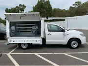 2013 Toyota Hilux KUN16R MY12 SR 4x2 White 5 Speed Manual Cab Chassis Maddington Gosnells Area Preview