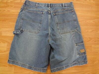 Vintage Men's Chaps Ralph Lauren Carpenter Painters Blue Jean Shorts Size 36
