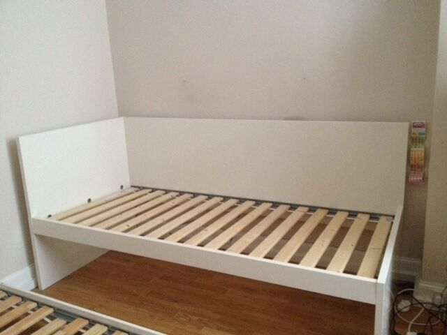 Mudroom Ideas Using Ikea Furniture ~ Ikea Flaxa Childrens Single bed with pull out underbed  White  in