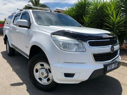 2012 Holden Colorado RG LX (4x2) White 6 Speed Automatic Crew Cab Pickup Hoppers Crossing Wyndham Area Preview