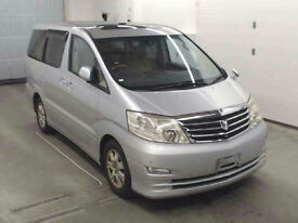 FRESH IMPORT FULLY LOADED LATE 2005 TOYOTA ALPHARD 3.0 MZ G EDITION 4WD