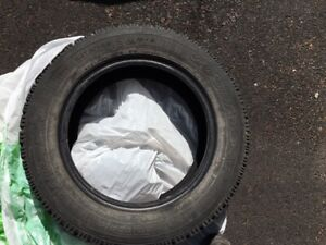 Winter tires-used P195/60r15