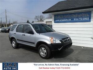 2003 Honda CR-V LX.No Accident