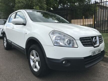 2010 Nissan Dualis J10 Series II MY2010 TI White 6 Speed Manual Hatchback Cambridge Park Penrith Area Preview