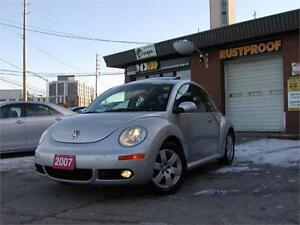 2007 Volkswagen New Beetle Luxury edition, Coupe