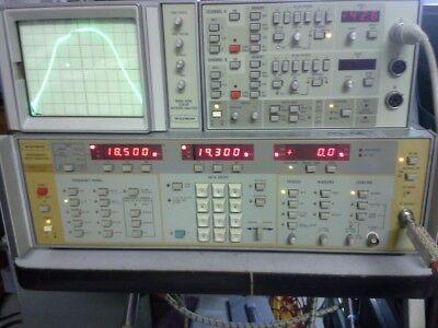 Rf Bandpass Filter 18.5 Ghz -19.3 Ghz Sma M-f Aeroflex Comstron Mil-spec K Band