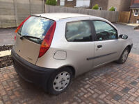 Silver Fiat Punto used - Pick up only!