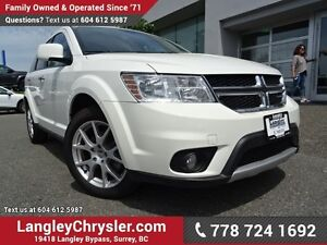 2017 Dodge Journey GT ACCIDENT FREE w/ ALL-WHEEL DRIVE, LEATH...