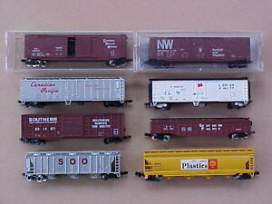 N scale Atlas, Athearn + other train model railroad freight cars Kingston Kingston Area image 7