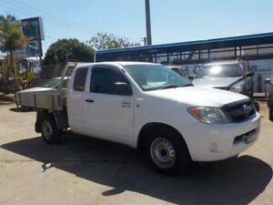 2007 Toyota Hilux GGN15R MY07 SR Xtra Cab White 5 Speed Automatic Utility North St Marys Penrith Area Preview