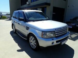 2006 Land Rover Range Rover Sport L320 07MY TDV8 Verbier Silver Gloss Finish 6 Speed Wangara Wanneroo Area Preview