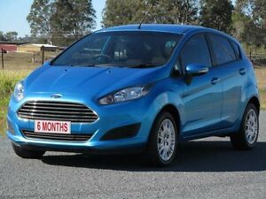 2013 Ford Fiesta WZ Ambiente PwrShift Blue 6 Speed Sports Automatic Dual Clutch Hatchback Stapylton Gold Coast North Preview