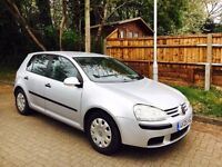 VOLKSWAGEN GOLF GENIUE LOW MILEAGE.