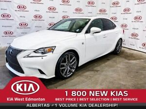 2015 Lexus IS 350 F-Sport AWD | LEATHER | NAV | SUNROOF | SAFETY