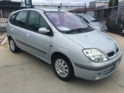 2002 Renault Scenic J64 Privilege Silver 5 Speed Manual Hatchback Fyshwick South Canberra Preview
