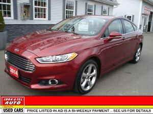 2014 Ford Fusion SE $19995 financed price - 0 down payment* SE