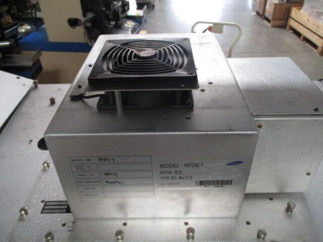 Trazar RFDS-1 RF Match, 3884-001, Samsung, 24 VDC, 5 Amp, 553-07491-00, 418873