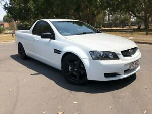 2007 Holden Commodore VE Omega White 6 Speed Manual Utility Woodridge Logan Area Preview
