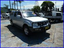 2010 Nissan Navara D40 ST (4x4) Silver 5 Speed Automatic Dual Cab Pick-up Homebush West Strathfield Area Preview