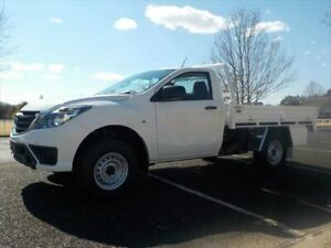 2019 Mazda BT-50 MY18 XT (4x4) (5Yr) Cool White 6 Speed Manual Cab Chassis Armidale Armidale City Preview