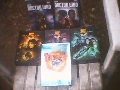 Science Fiction TV Shows DVD Box Sets Babylon 5, Doctor Who,,Thunderbirds