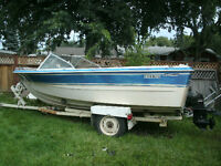 late 70s 16 foot 165 horse inboard