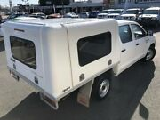 2011 Toyota Hilux TGN16R MY12 Workmate White 4 Speed Automatic Dual Cab Pick-up Mackay Mackay City Preview