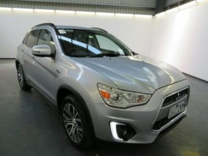 2015 Mitsubishi ASX XB MY15.5 LS (2WD) Silver Continuous Variable Wagon Albion Brimbank Area Preview