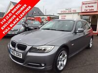 BMW 3 SERIES 318D EXCLUSIVE EDITION TOURING (grey) 2012