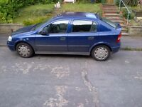 2004 Vauxhall Astra (old shape) FOR SPARES OR REPAIR - £ 150 or offers