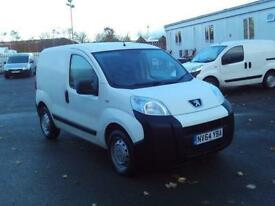 Peugeot Bipper 1.3 HDI 70bhp Van DIESEL MANUAL WHITE (2015)