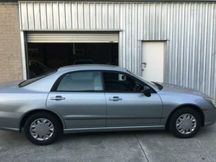 2003 Mitsubishi Magna TL Silver Sports Automatic Sedan