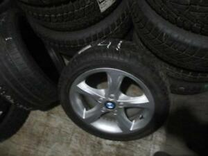 225/45 R17 BMW WINTER TIRES AND RIMS PACKAGE (SET OF 4) - USED HERCULES WINTER HSI APPROX. 85% TREAD