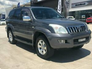 2005 Toyota Landcruiser Prado GRJ120R GXL Grey 5 Speed Automatic Wagon