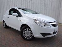 2009 VAUXHALL CORSA Van 1.3 CDTI with Low Miles, No Vat To Pay, and Incredible 70+ MPG !!