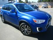 2016 Mitsubishi ASX XC MY17 LS 2WD Lightning Blue 6 Speed Constant Variable Wagon Melrose Park Mitcham Area Preview