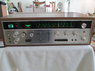 Vintage Sansui Quad Quadraphonic QR-4500 4-Channel Receiver w Box & Accessories!