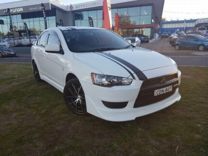 2011 Mitsubishi Lancer CJ MY11 SX White 5 Speed Manual Sedan Belconnen Belconnen Area Preview