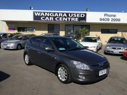 2008 Hyundai i30 FD MY09 SLX 1.6 CRDi Grey 5 Speed Manual Hatchback Wangara Wanneroo Area Preview