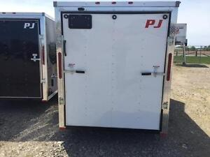 6ft x 12ft Enclosed Trailer (RWT6x12 Single Axle) London Ontario image 3