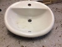 Sink for a vanity unit in good condition - never been used.