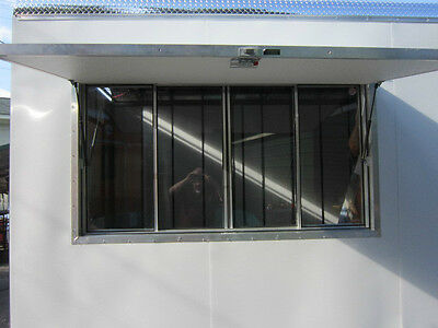 Quality Concession Trailer Serving Window Size 40 X 64  Lifetime Warranty