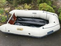 inflatable dingy with suzuki 4hp outboard